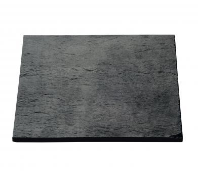 1 Schieferplatte 24x24x1cm Auslauf Restbestand MEMO ASA-Selection*