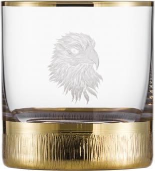 Whiskybecher 500/14 SILAS GOLD  Eisch Glas**1