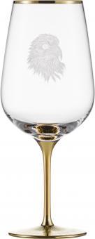 Bordeaux 550/0 SILAS GOLD  Eisch Glas**1 +