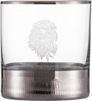 Whiskybecher 500/14 SILAS PLATIN  Eisch Glas**1