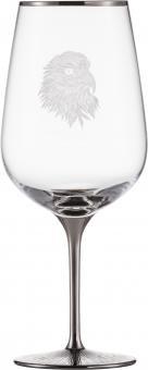 Bordeaux 550/0 SILAS PLATIN  Eisch Glas**1 +