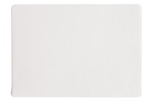 Tischset - weiß - 33 x 46cm, Lederoptik fine ASA-Selection**6