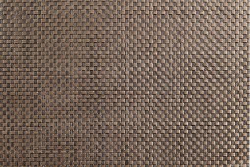 Tischset 33x46cm, kupfer/dunkelbraun, geflochten ASA-Selection**6