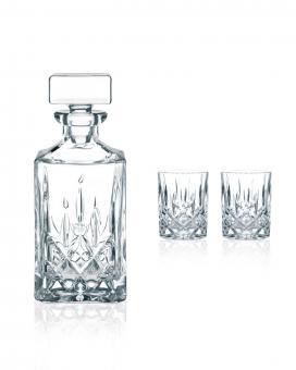 Set 3-tlg. Whisky Karaffe/Tumbler NOBLESSE Nachtmann