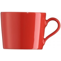 Kaffeeobertasse 0,2ltr. rot TRIC HOT Arzberg**6