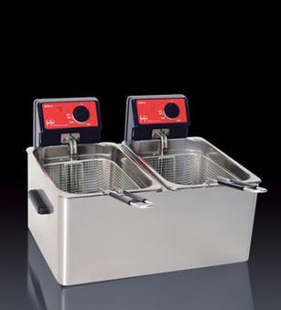 Doppelbecken-Tischfritteuse ECO 6+6 PROFESSIONAL frifri