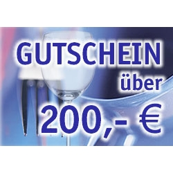 Gutschein 200,- Euro
