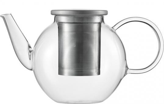 teekanne 1 ltr mit edelstahldeckel und sieb concept tea good mood jenaer. Black Bedroom Furniture Sets. Home Design Ideas