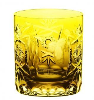 Whisky pur Wasser 250ml 9cm TRAUBE bernstein Nachtmann