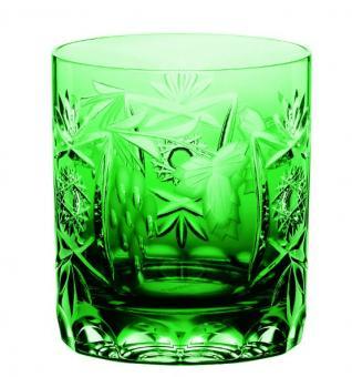 Whisky pur Wasser 250ml 9cm TRAUBE smaragd Nachtmann