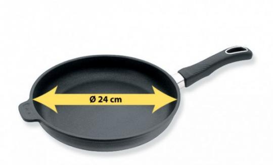 Induktions-Bratpfanne 24cm Ø 4cm hochBIOTAN PLUS® Gastrolux