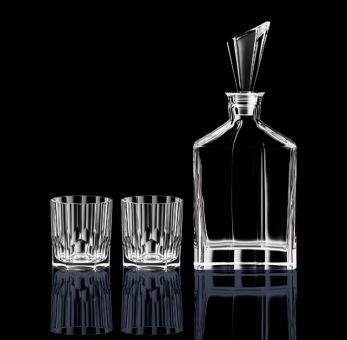 Set 3-tlg. Whisky Karaffe/Tumbler 1+2 ASPEN Nachtmann