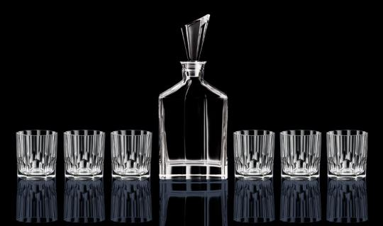 Set 7-tlg. Whisky Karaffe/Tumbler 1+6 ASPEN Nachtmann