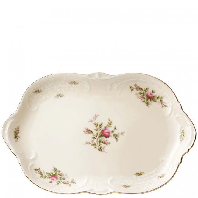 Platte 33 5x21 5cm sanssouci elfenbein ramona rosenthal for Innendekoration potsdam