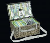 Picknick-Korb für 4 Pers. Ascona olivgrün cilio