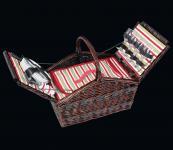 Picknick-Korb für 4 Pers. Como dunkelbraun cilio