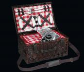 Picknick-Korb für 4 Pers. Varese dunkelbraun cilio