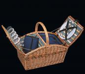 Picknick-Korb für 4 Pers. Verbania deluxe hellbraun cilio