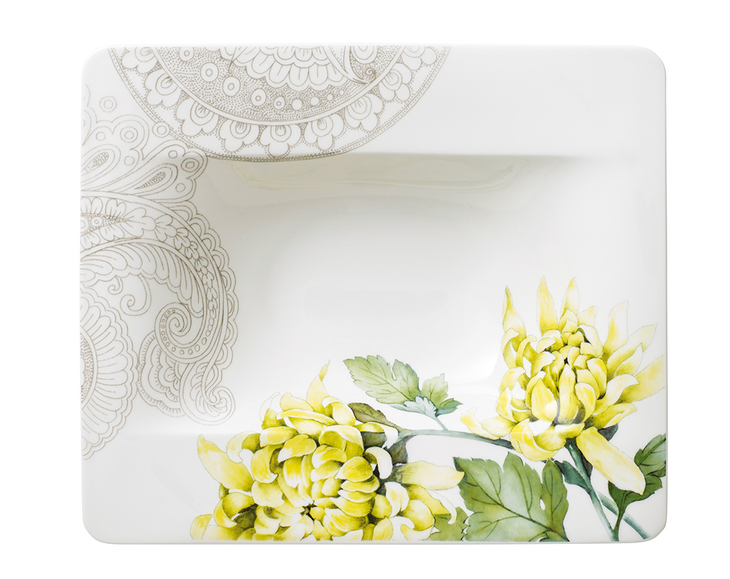 suppenteller 24cm quinsai garden villeroy boch quinsai. Black Bedroom Furniture Sets. Home Design Ideas