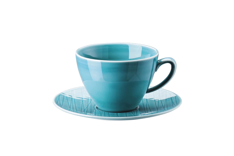 set kombitasse 2 tlg 0 29ltr 16cm mesh aqua rosenthal mesh colours. Black Bedroom Furniture Sets. Home Design Ideas