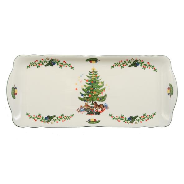 kuchenplatte eckig 35 cm marieluise weihnachten 43607. Black Bedroom Furniture Sets. Home Design Ideas