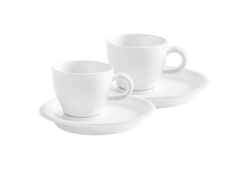 set 2 espressotassen 0 03ltr caf sommelier 2 0 weiss kahla tassen und. Black Bedroom Furniture Sets. Home Design Ideas