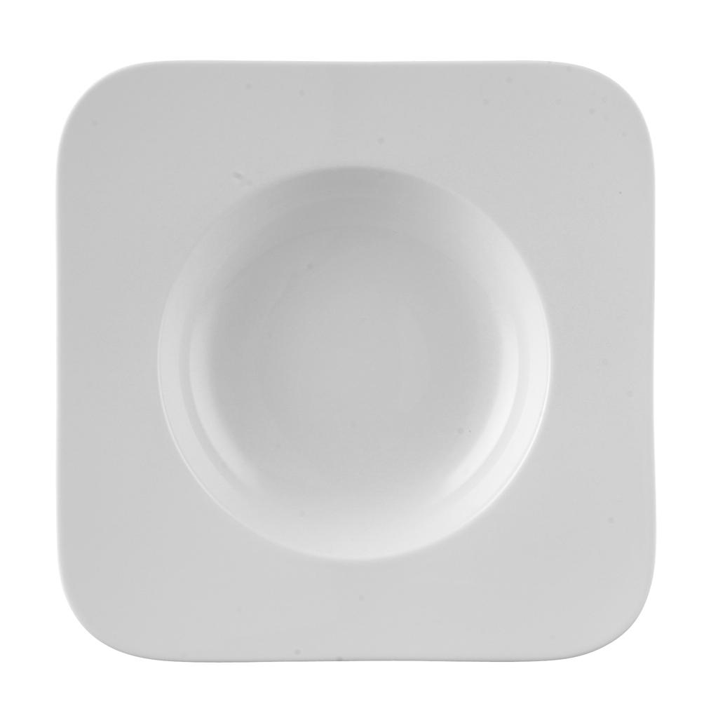 pastateller 29cm quadratisch free spirit weiss rosenthal free spirit wei. Black Bedroom Furniture Sets. Home Design Ideas
