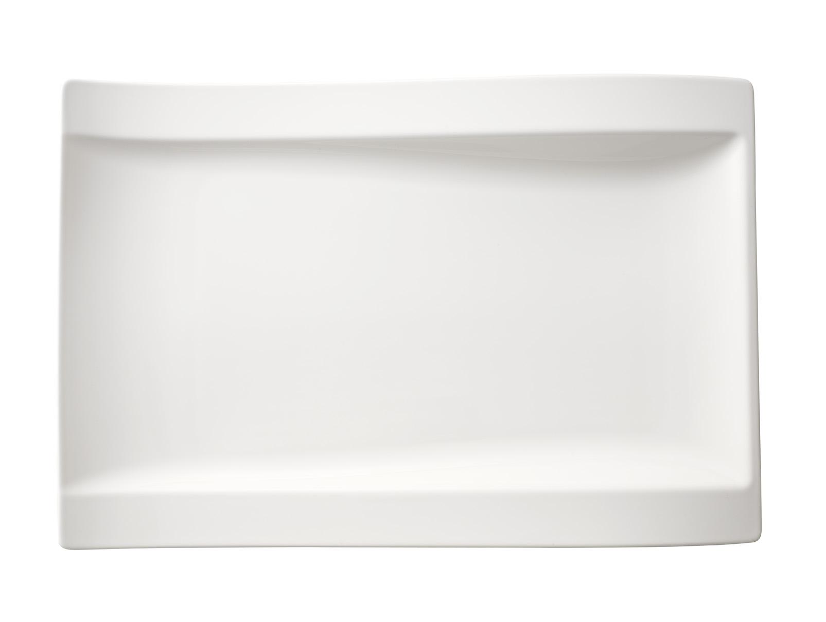 gourmetteller 37x25cm neu new wave villeroy boch new. Black Bedroom Furniture Sets. Home Design Ideas