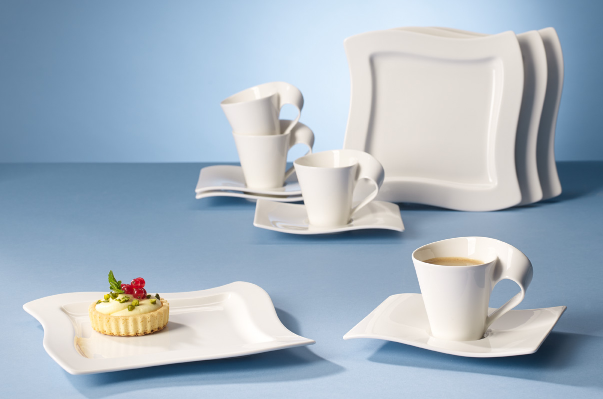 kaffee set 12 tlg aktion new wave villeroy boch new. Black Bedroom Furniture Sets. Home Design Ideas