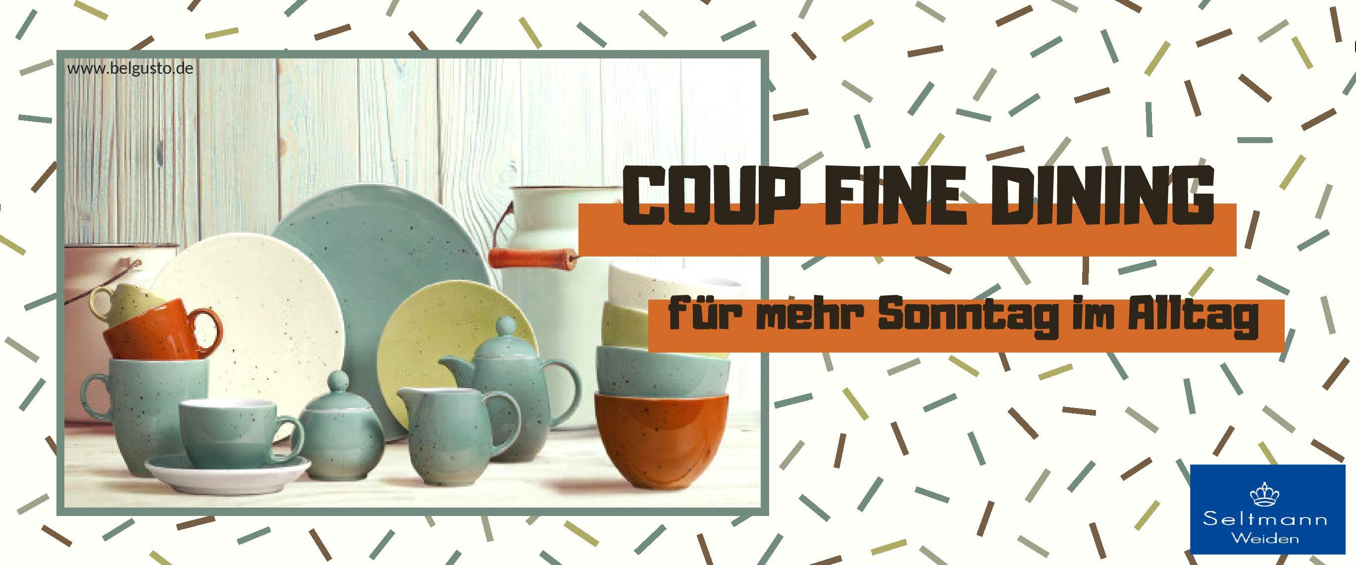 ..Serie COUP FINE DINING von Seltmann Weiden